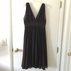 J. Crew Brown Party Dress
